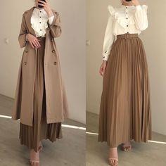 Street Hijab Fashion, Muslim Fashion, Modest Fashion, Fashion Dresses, Muslimah Clothing, Modest Outfits, Dress Outfits, Casual Hijab Outfit, Hijab Fashion Inspiration