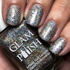 """Glam Polish """"I'd Have Ugly Nails Without Nikki"""" Duo - Limited Edition - The Polished Pursuit Blue Glitter, Indie Brands, Happy Weekend, Being Ugly, Nail Polish, Nails, Finger Nails, Ongles, Nail Polishes"""