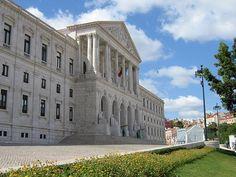 Palácio de S.Bento - Lisboa Bento, Portugal, Places To Visit, Mansions, Nice, House Styles, Travel, Beautiful, Lisbon