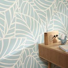 Charmant Papier_peint_intisse_botero_vert Leroy Merlin 16.90e Decoration Papier Peint,  Papier Peint Art Deco, Papier Peint