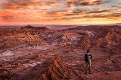 Martian sunset on Earth