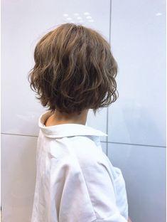 Short Hair Waves, Short Wavy Hair, Short Hair With Layers, Asian Short Hair, Short Hairstyles For Thick Hair, Permed Hairstyles, Hair Styles 2016, Medium Hair Styles, Curly Hair Styles