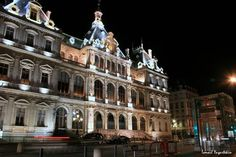 Lyon #France #Night