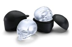 Brain freeze: Skull ice molds!