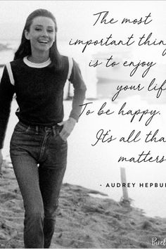 12 Audrey Hepburn Quotes That Never (Ever) Get Old via @PureWow