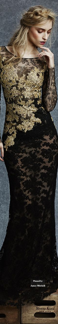 Reem Acra Pre-Fall 2015 | The House of Beccaria~