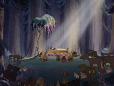 Screencap Gallery for Snow White and the Seven Dwarfs Bluray, Disney Classics). A beautiful girl, Snow White, takes refuge in the forest in the house of seven dwarfs to hide from her stepmother, the wicked Queen. Walt Disney, Disney Films, Disney Love, Disney Magic, Disney Art, Disney Pixar, Disney Stuff, Snow White 1937, Snow White 7 Dwarfs