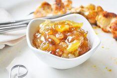 Birnen-Zwiebel-Chutney - Rezept - The Best Korean Recipes Corned Beef Recipes, Pulled Pork Recipes, Ground Beef Recipes, Chutneys, Cheap Meals, Easy Meals, Easy Recipes, Barbecue Sauce Recipes, Pork Barbecue