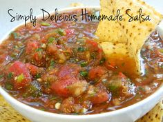 My Favorite Things: Simply Delicious Homemade Salsa