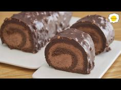 Flourless Chocolate Hazelnut Roll Cake Bezlepkový ASMR - YouTube Chocolate Roll Cake, Chocolate Hazelnut Cake, Flourless Chocolate Cakes, Gluten Free Chocolate, Gluten Free Sweets, Gluten Free Cakes, Delicious Cake Recipes, Sweets Recipes, Bolo Fit