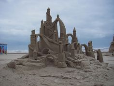 "By amazinwalter.com winner of 2nd place and ""peoples choice at the 18th annual ""Sand Castle Days"" at South Padre Island, Texas 2005"