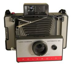 Polaroid Land Camera 104 (front)...thought i had one of these but can't find it!!