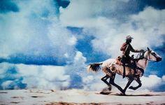 Cowboy Large Format Image on Canvas