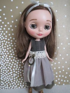 Blythe Doll Dress OOAK by HouseofNordcraft on Etsy