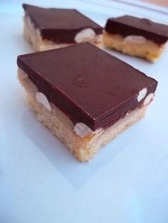 Millionaire's shortbread aux cacahuètes