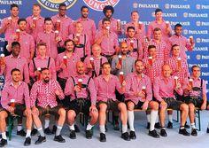 Bayern Munich Paulander photo shoot