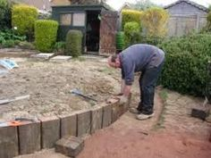 Maintenance Free Garden Ideas 18 garden design for small backyard page 14 of 18 Railway Sleepers Garden Ideas Google Search