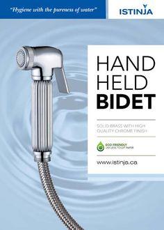 Hand Held Bidet With Temperature Control