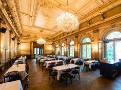Mercier und Camier Restaurant und Café im Literaturhaus Hamburg