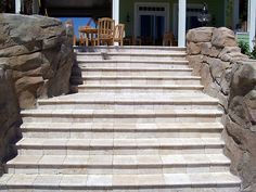 Interlocking Brick Pavers for the Tampa FL Area Interlocking brick pavers add beauty and functionality to any outdoor space, especially in the Tampa Bay Brick Paver Driveway, How To Install Pavers, Patio Stairs, Interlocking Bricks, Pool Decks, Doors, Marble, Porches, Outdoor