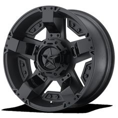 XD Series by KMC Wheels XD811 Rockstar II Satin Black Wheel With Accents (17×9″/5x127mm, -12mm offset) http://ozzytyres.com.au