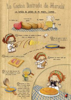 ♥ La tortilla de patata de mi madre ♥ (en 1° pers del plural // se+ verbo►impersonal)
