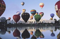 Canberra, Australia Festival Balloon Spectacular.