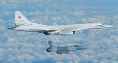 Reports out of the United Kingdom say that a pair of RAF Typhoon fighter jets were scrambled to intercept two Russian Blackjack bombers that flew down the west coast of Ireland but did not enter UK airspace. The Russian bombers flight path took them down towards France before they turned back and exited to the north.  The French Air Force also sent jets to escort the Russian Tupolev Tu-160 bombers.