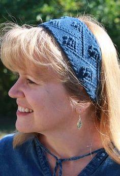 Nancy's Garden Headband by Jenny Williams