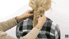 Pancaking Is the 1 Trick You Need to Get the Prettiest Braid Ever  - Cosmopolitan.com