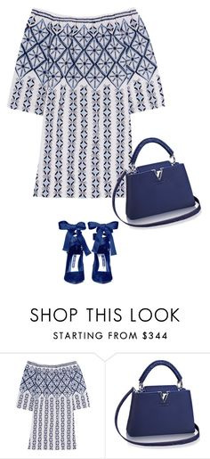 """Untitled #6908"" by lisa-holt ❤ liked on Polyvore featuring Miguelina and Alice + Olivia"