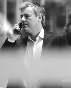Rupert Graves as Sherlock's DI Greg Lestrade. I just love this shot, and I'm pretty fond of him, too.