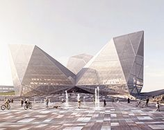 OPT designs citizen-oriented synthetic publics city hall in tekirdag