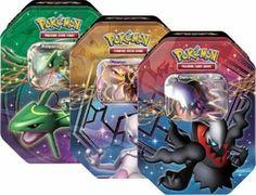 Pokemon 2012 Fall Legends Legendary EX Tin Set (3 Pokemon Tins)