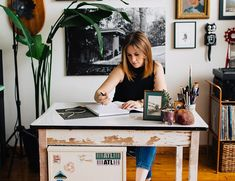 An Eclectic Plant Filled Loft Tour - Inspired By This