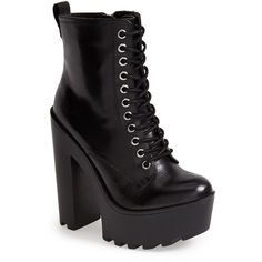 aba59b671d2f Women s Steve Madden  Globaal  Platform Boot (£94) ❤ liked on Polyvore