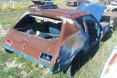 1970 AMC Gremlin Rusted Development, Amc Gremlin, Car Barn, Rust In Peace, Rusty Cars, Abandoned Cars, Gremlins, Barn Finds, Backyards