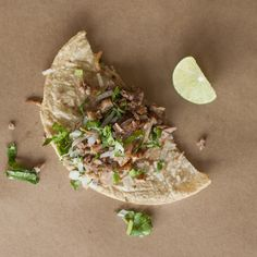 Así se ven 200 calorías en antojitos mexicanos