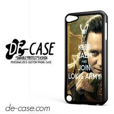 Loki Keep Calm And Join Lokis Army DEAL-6623 Apple Phonecase Cover For Ipod Touch 5