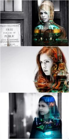 Companions and their rightful TARDIS interiors... this is cool