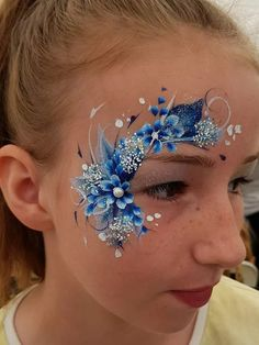 Face Painting Flowers, Eye Face Painting, Adult Face Painting, Belly Painting, Face Painting Tutorials, Face Painting Designs, Paint Designs, Body Painting Festival, Human Body Art