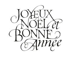 joyeux nol et bonne anne merry christmas and happy new year from in fashion - Merry Christmas French