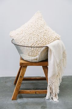 Pampa, woven cushions and throws