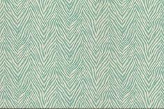 Calico Corners- Zebra Skin Outdoor Aquamarine- 11.24/yard