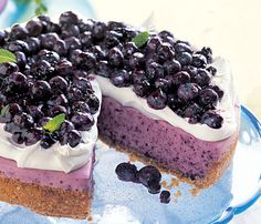 Think Outside the Muffin: 10 Good Lookin Blueberry Recipes: BA Daily