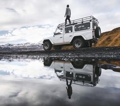 Another great shot by @donal_boyd  Freedom to explore.  At the end of this month I'll be moving into my new home... A Land Rover Defender by @geysircarrental !  It only makes sense that this summer I'll base my operations out on the road.  Living out of the Defender will allow me to wake up exactly where I want to be. In the mountains. Next to the glacier. By the ocean.  Freedom to roam.  #Ísland #Iceland #travel #Landrover #defender #landroverdefender #landroverexperience by rovergroup…