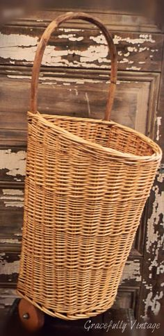 French Market Rolling Basket. I have been looking for one for 10 years... suggestions?