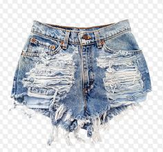 {f}ive times the fun: DIY Distressed Denim Shorts