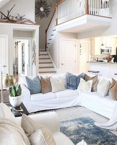 We are so excited to announce our feature for #myhautehome this week! This beautiful  room belongs to my sweet friend, Selena @middlesisterdesign.  We were all swooning over her mix of blues and neutrals that make this space a total scroll stopper! ✨ We want to see the everyday elegance in your homes and the sky is the limit! If your style is boho, glam, farmhouse or contemporary - take a snap and share using #myhautehome and we will feature our fav next Tuesday!  Make sure you're following…