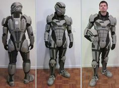 N7 Armor Test Fit III by ~hsholderiii on deviantART